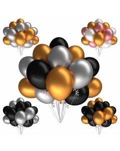 Metallicballons 100 Stück