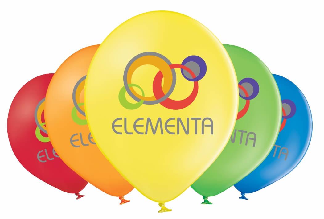 Luftballon mit 5-farbigen HQ-Superprint